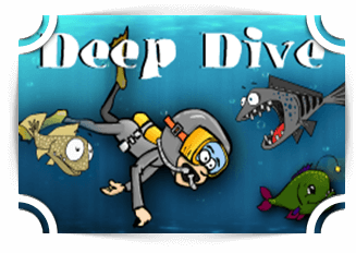 Deep Dive addition Games Fun4TheBrain Thumbnail