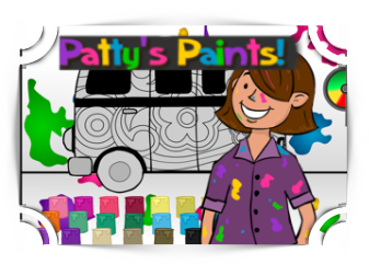 Patty Paints addition Games Fun4TheBrain Thumbnail
