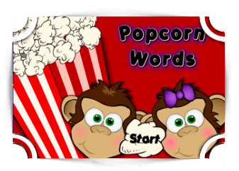 Popcorn Words reading game reading Games Fun4TheBrain Thumbnail