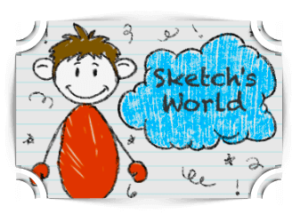 Sketchs World  addition Games Fun4TheBrain Thumbnail