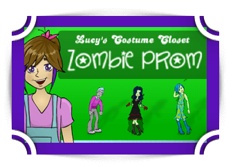 Zombie Prom - Lucy's Costume Closet addition Games Fun4TheBrain Thumbnail